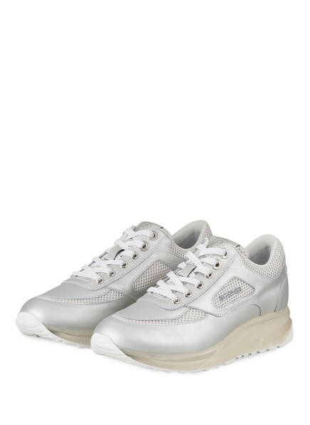 Silber Bogner New 10 York sneaker Plateau YxwqzwUX