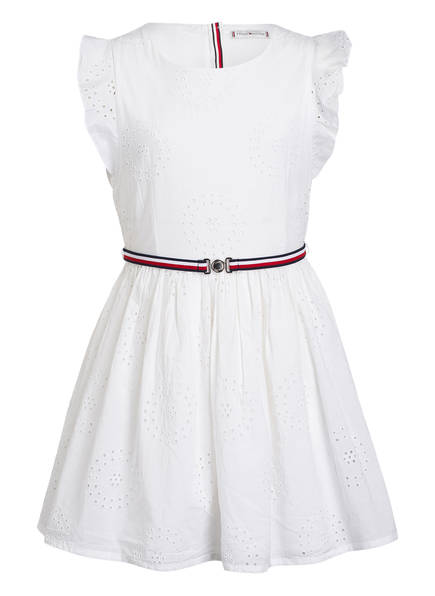 TOMMY HILFIGER Kleid CHARMING SHIFFLEY, Farbe: WEISS (Bild 1)