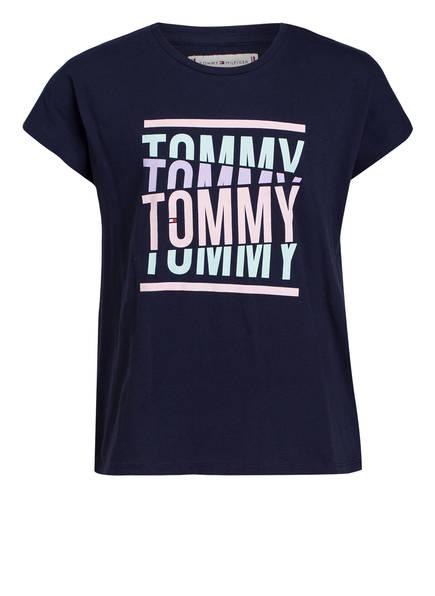 TOMMY HILFIGER T-Shirt , Farbe: DUNKELBLAU (Bild 1)