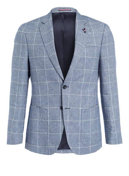 TOMMY HILFIGER Sakko Regular Fit, Farbe: BLAU/ HELLBLAU/ CREME KARIERT (Bild 1)
