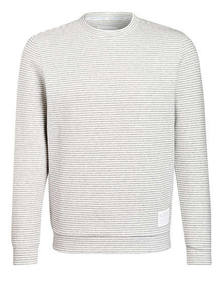 Marc O'Polo DENIM Sweatshirt, Farbe: GRAU/ ECRU (Bild 1)