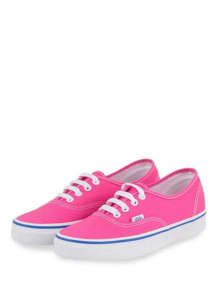VANS Sneaker AUTHENTIC, Farbe: PINK (Bild 1)