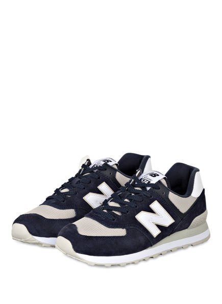 new balance Sneaker ML574, Farbe: DUNKELBLAU/ GRAU/ WEISS (Bild 1)