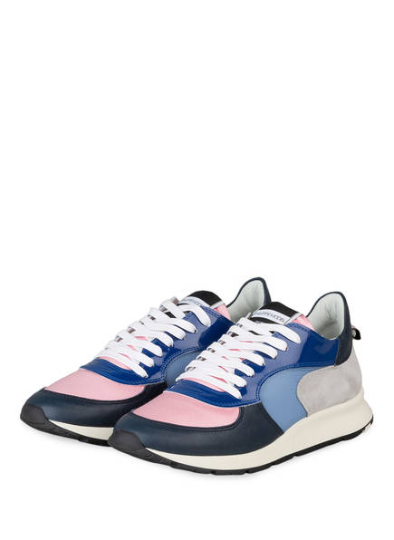 PHILIPPE MODEL Sneaker MONTECARLO, Farbe: WEISS/ BLAU/ ROSA (Bild 1)
