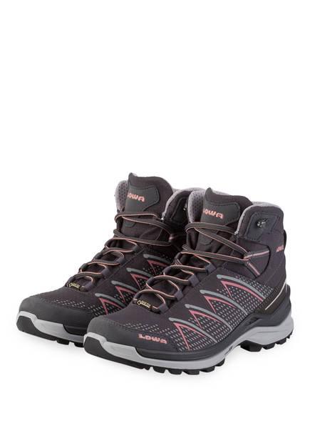 LOWA Outdoor-Schuhe FERROX PRO GTX MID , Farbe: GRAPHIT/ LACHS (Bild 1)