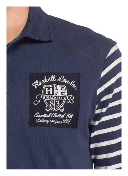 London Slim Poloshirt Fit Dunkelblau Hackett aHzYnxwFH1