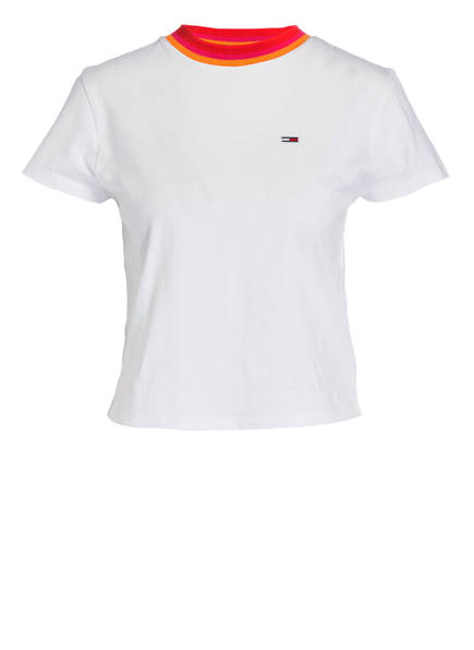 Tommy Baby Jeans shirt T Tee Weiss r1rwqzxt