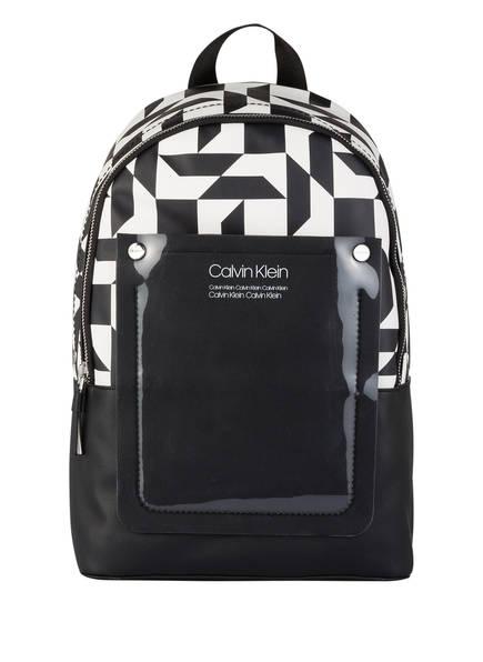 Calvin Klein Rucksack, Farbe: SCHWARZ/ WEISS (Bild 1)