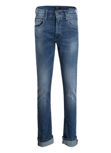 REPLAY Jeans Regular Fit, Farbe: DENIM BLUE (Bild 1)