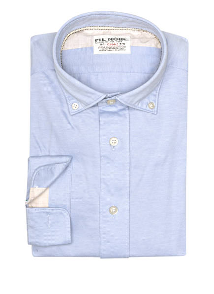 FIL NOIR Hemd ROMA Shaped Fit, Farbe: HELLBLAU (Bild 1)