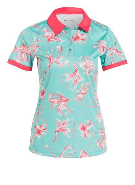 KJUS Jersey-Poloshirt ENYA, Farbe: MINT/ ROSA (Bild 1)