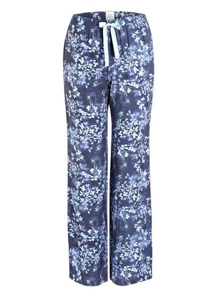 SCHIESSER Schlafhose , Farbe: DUNKELBLAU/ MINT/ HELLBLAU (Bild 1)