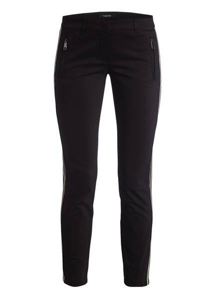TAIFUN Hose mit Galonstreifen, Farbe: SCHWARZ (Bild 1)