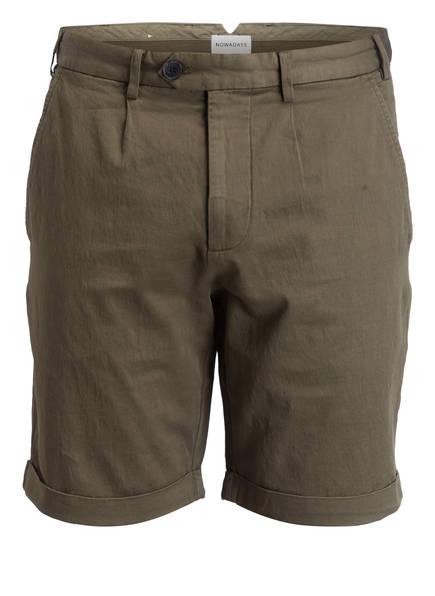 NOWADAYS Shorts Regular Fit, Farbe: OLIV (Bild 1)