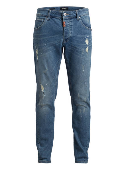 tigha Destroyed-Jeans BILLY THE KID Slim Fit, Farbe: LIGHT BLUE (Bild 1)