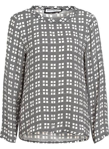 ROQA Blusenshirt, Farbe: SCHWARZ/ WEISS (Bild 1)