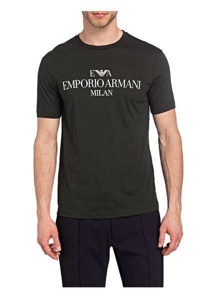 Emporio shirt T shirt Armani Emporio Emporio Dunkelgrün T Armani Dunkelgrün nxOBqgTBp