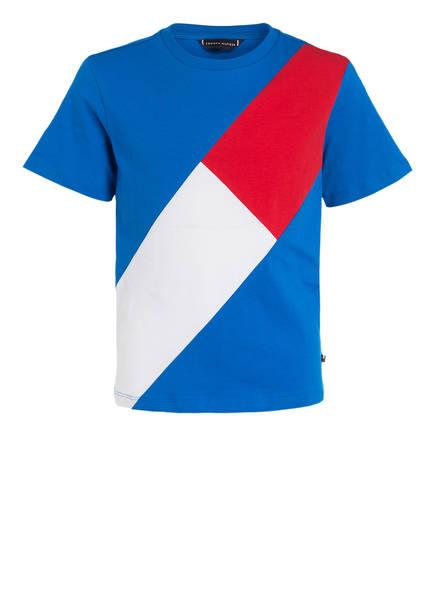 TOMMY HILFIGER T-Shirt, Farbe: BLAU/ WEISS/ ROT (Bild 1)