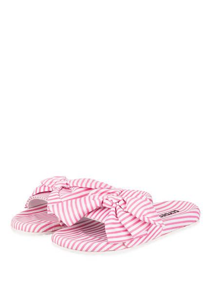 SLYDES Pantoletten BRIGHTON, Farbe: WEISS/ PINK (Bild 1)