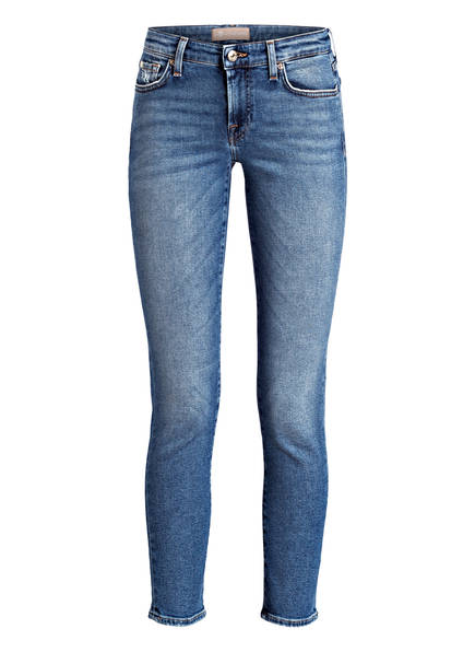 7 for all mankind 7/8-Jeans PYPER CROP, Farbe: MID BLUE (Bild 1)