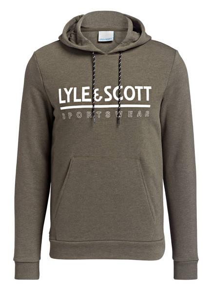 LYLE & SCOTT Hoodie, Farbe: OLIV MELIERT (Bild 1)