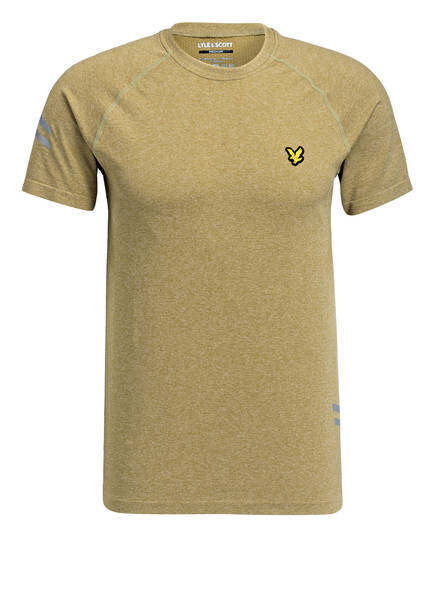 LYLE & SCOTT T-Shirt, Farbe: GRÜN MELIERT (Bild 1)