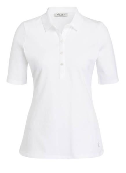 MAERZ MUENCHEN Piqué-Poloshirt, Farbe: WEISS (Bild 1)