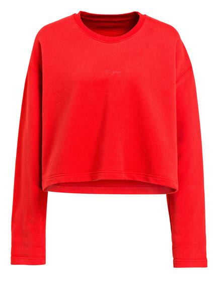 Hey Honey Cropped-Sweatshirt GOOD TO GO, Farbe: ROT (Bild 1)