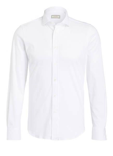 Chas Jersey-Hemd Slim Fit, Farbe: WEISS (Bild 1)
