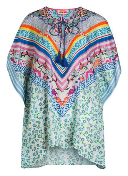 yippie hippie Seidentunika TASSEL, Farbe: MINT/ BLAU/ ROSA (Bild 1)