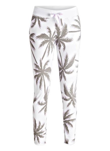 Juvia Sweatpants, Farbe: WEISS/ OLIV (Bild 1)