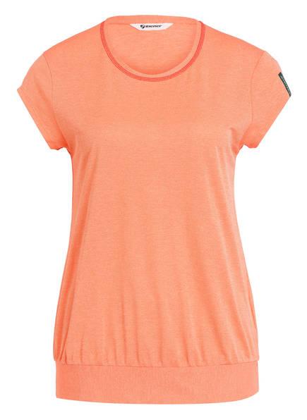 ziener T-Shirt CADAN , Farbe: APRICOT MELIERT (Bild 1)