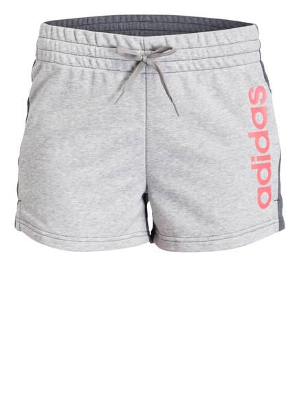 adidas Sweatshorts ESSENTIALS LINEAR , Farbe: HELLGRAU/ GRAU (Bild 1)