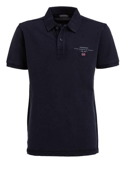 NAPAPIJRI Piqué-Poloshirt  ELBAS, Farbe: DUNKELBLAU (Bild 1)