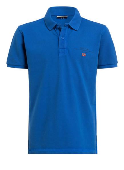 NAPAPIJRI Piqué-Poloshirt  ELBAS, Farbe: BLAU (Bild 1)