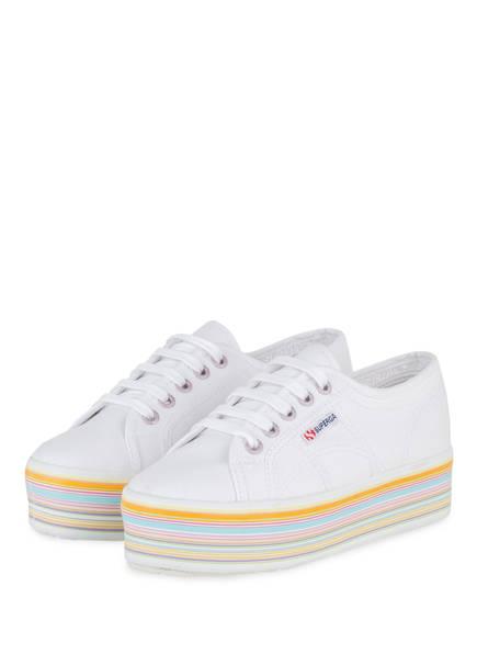 SUPERGA Sneaker 2790, Farbe: WEISS (Bild 1)