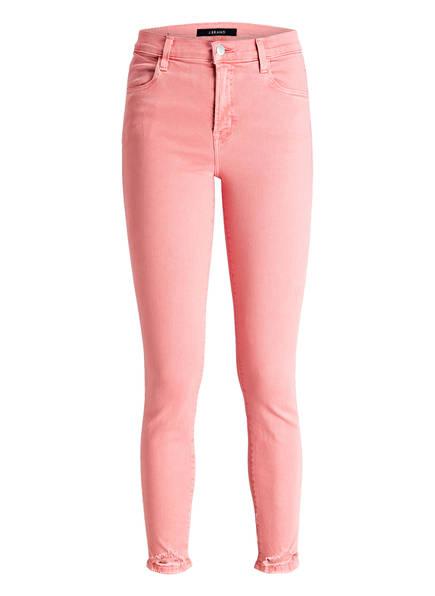 J BRAND 7/8-Jeans ALANA, Farbe: FADED GLARE DESTRUCT LIGHT RED (Bild 1)