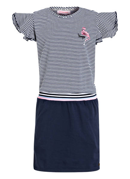 VINGINO Kleid PEYTON, Farbe: DUNKELBLAU/ WEISS (Bild 1)