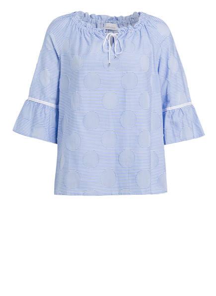 just white Bluse, Farbe: HELLBLAU (Bild 1)