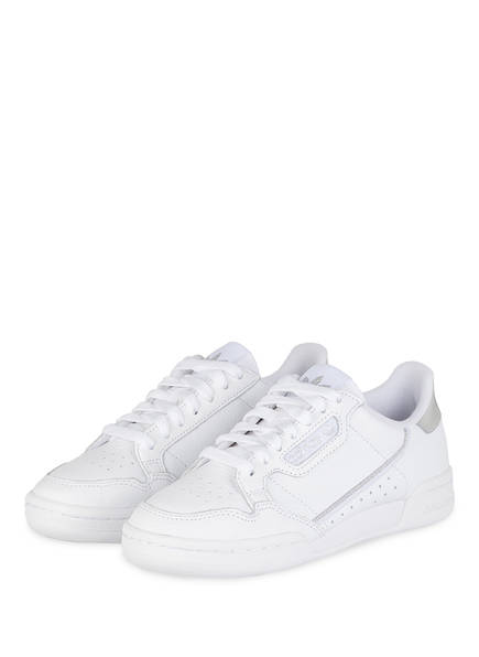 adidas Originals Sneaker CONTINENTAL 80, Farbe: WEISS/ SILBER (Bild 1)