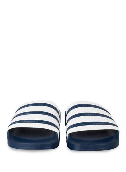 Badeschuhe ADILETTE von adidas Originals   DUNKELBLAU