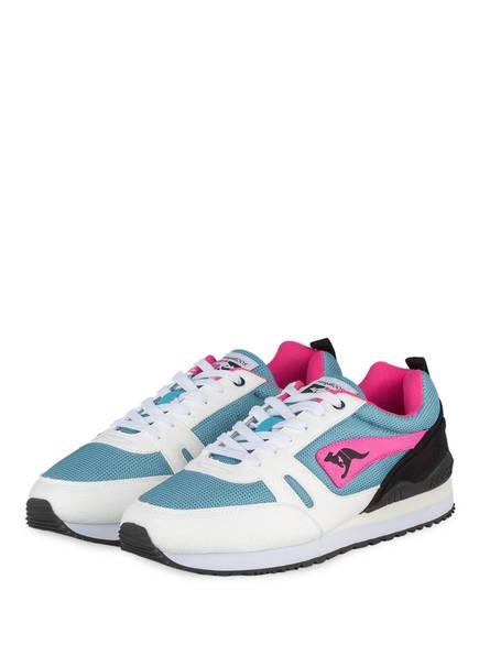 KangaROOS Sneaker OMNIRACER , Farbe: PETROL / PINK / ECRU (Bild 1)