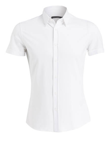 DRYKORN Halbarm-Hemd FENNO Extra Slim Fit, Farbe: WEISS (Bild 1)