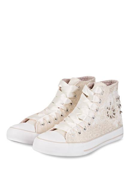 KRÜGER Hightop-Sneaker, Farbe: ECRU (Bild 1)