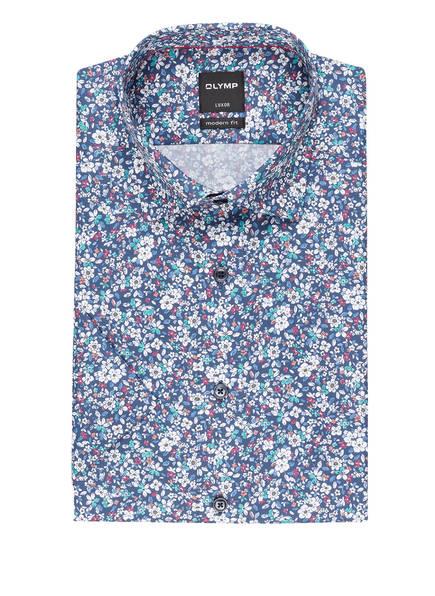OLYMP Halbarm-Hemd Luxor modern fit, Farbe: DUNKELBLAU (Bild 1)