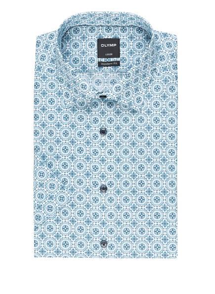 OLYMP Halbarm-Hemd Luxor modern fit, Farbe: BLAU (Bild 1)