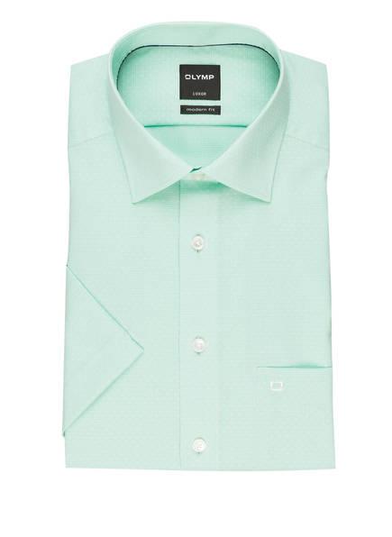 OLYMP Halbarm-Hemd Luxor modern fit, Farbe: MINT (Bild 1)