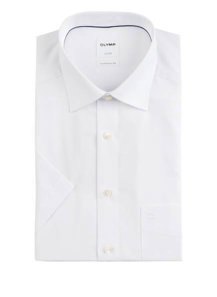 OLYMP Kurzarm-Hemd Luxor comfort fit, Farbe: WEISS (Bild 1)