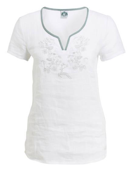 Hammerschmid Trachtenshirt LEILA, Farbe: WEISS (Bild 1)