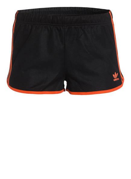 adidas Originals Shorts, Farbe: SCHWARZ/ ORANGE (Bild 1)